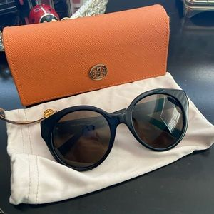 Tory Burch Round Cat Eye Sunglasses
